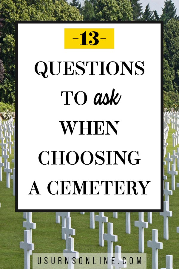 Choosing a Cemetery
