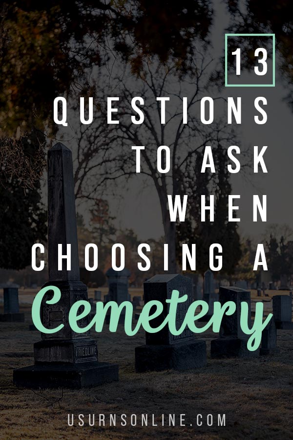 How to Select a Cemetery