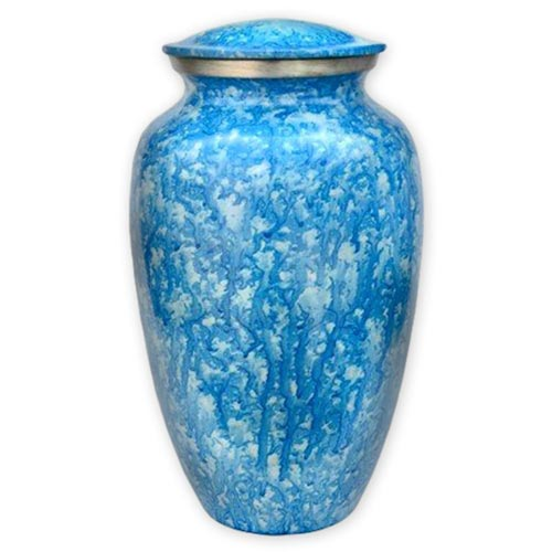 Urns for Ashes - Metal - Blue