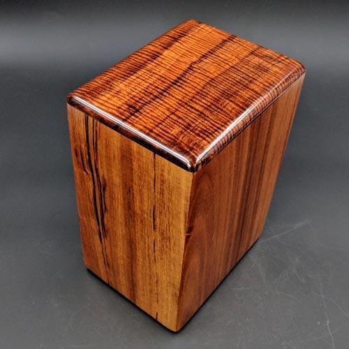 Hawaiian Koa Wood Cremation Urn