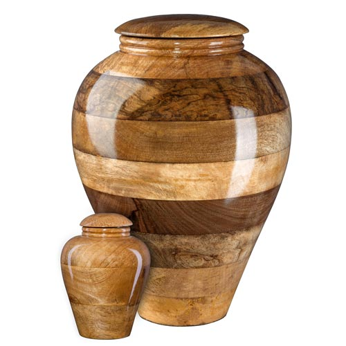 Mango Wood Cremation Urn