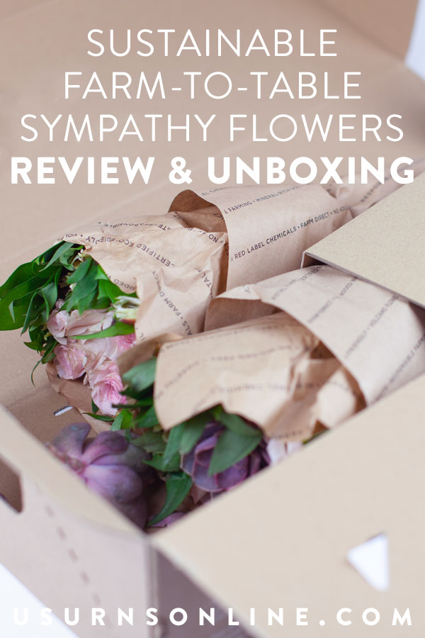Sustainable Sympathy Flowers
