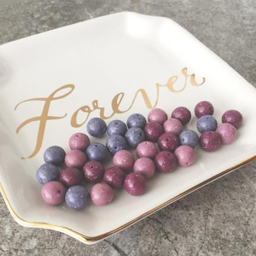 Creative Memorial Ideas - Beads from Funeral Flowers