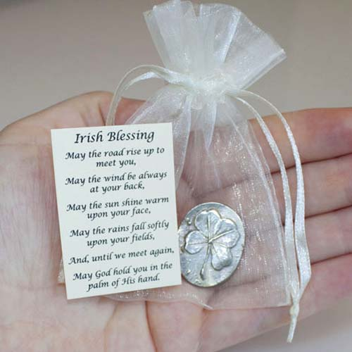 Memorial Favors - Pewter Pocket Charms