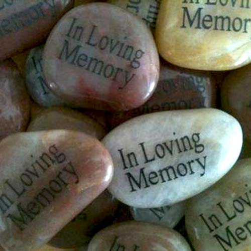 Engraved Stones - In Loving Memory