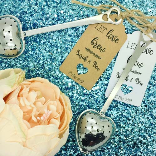 Funeral Favors for Someone Who Loved Tea