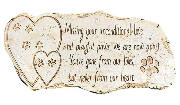 Missing your unconditional love pet loss poem