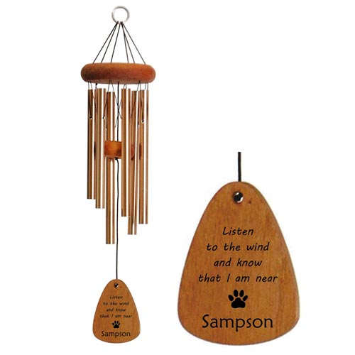 Sympathy Wind Chime for Pet Loss