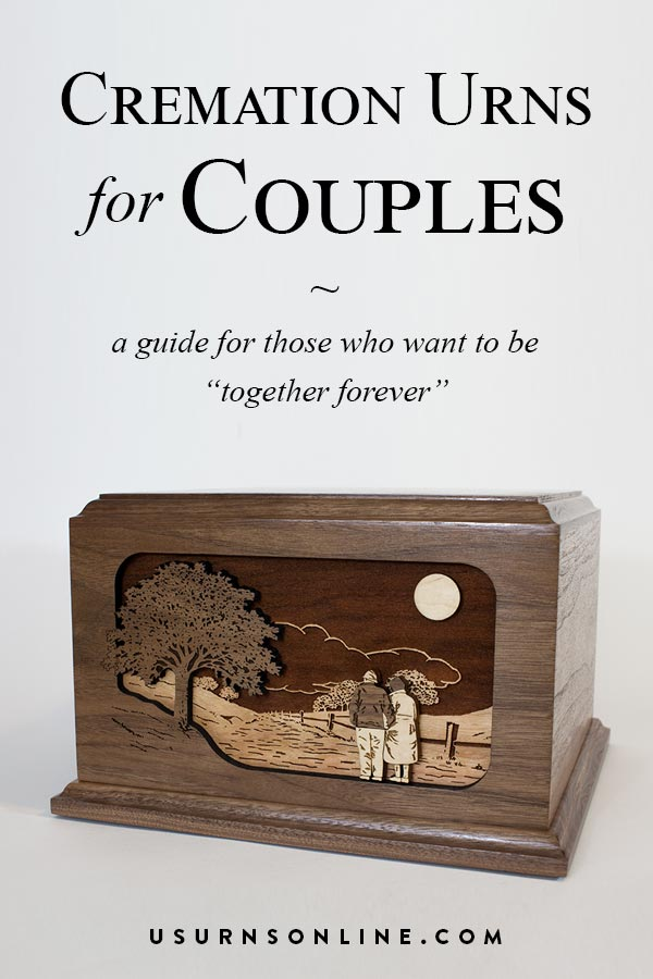 Urns for Couples - A guide to choosing the urns for two people