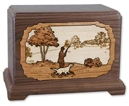 Hunting Dog Cremation Urns