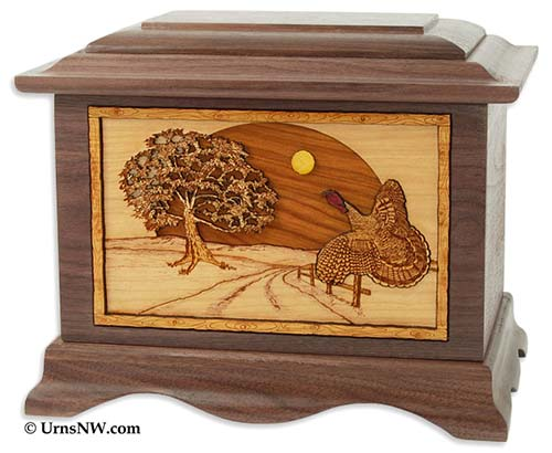 Hunting Cremation Urns for Turkey Hunters