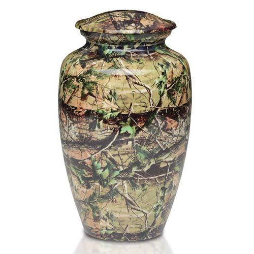 Affordable Camouflage Urn