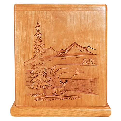 Wooden Hunting Cremation Urns