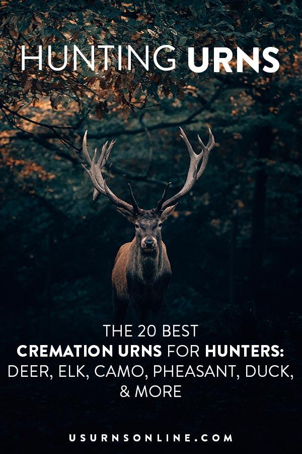 Deer Hunting Urns