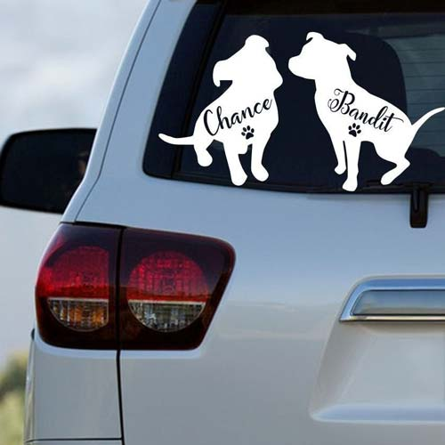Custom Pet Memorial Decal