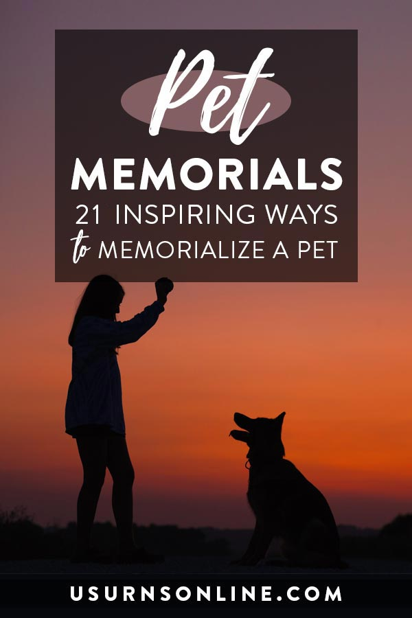 Beautiful Pet Memorial Ideas