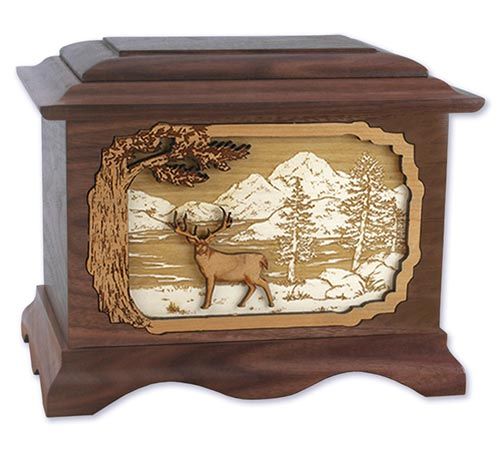 Deer Hunter Cremation Urns