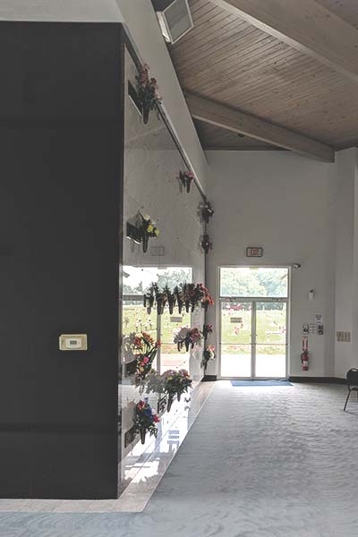 Indoor Columbarium Niches