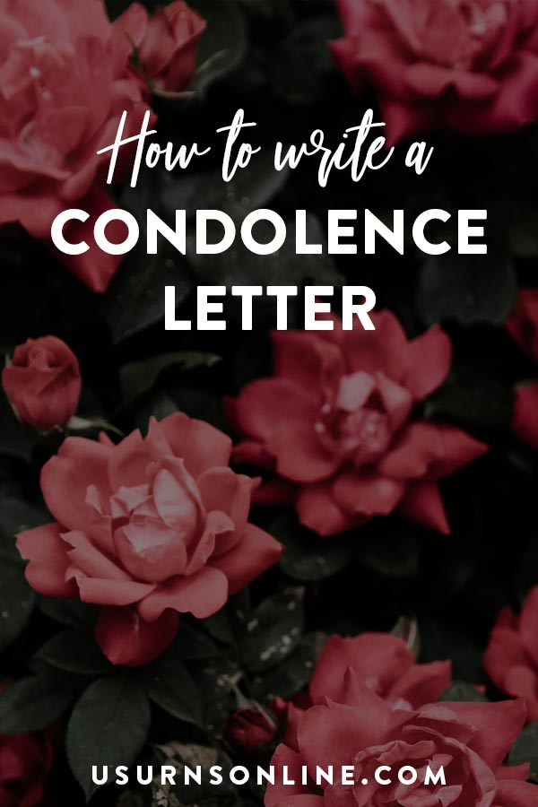 Condolence Letter Writing Tips