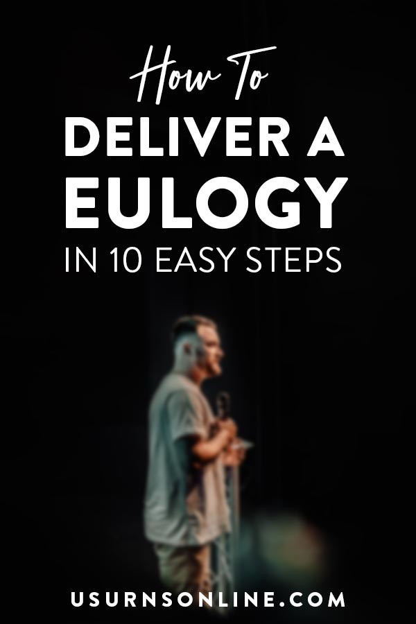 How to Deliver a Eulogy