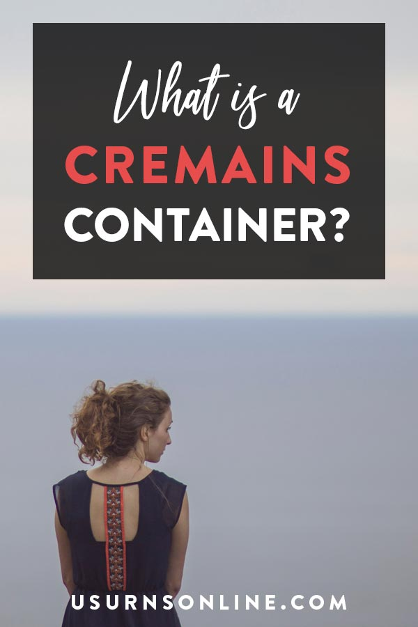 Cremains Containers