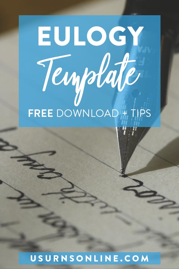 Eulogy Template and Outline
