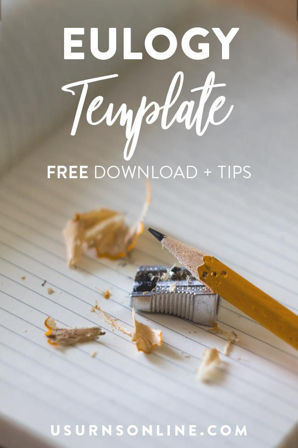 Eulogy Template (Free Download)