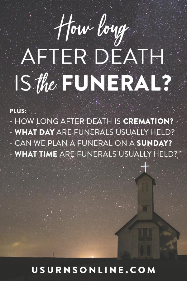 When are funerals usually held?