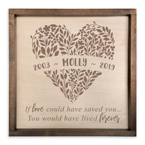 Personalized Memorial Plaque