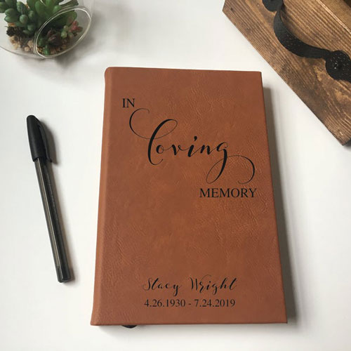In Loving Memory Journal (Personalized)