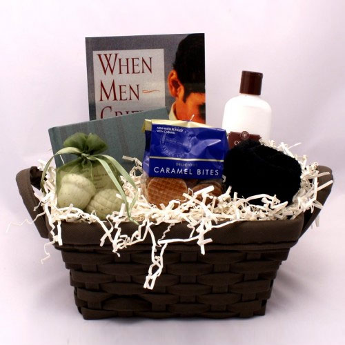 Sympathy Gift Basket for Men