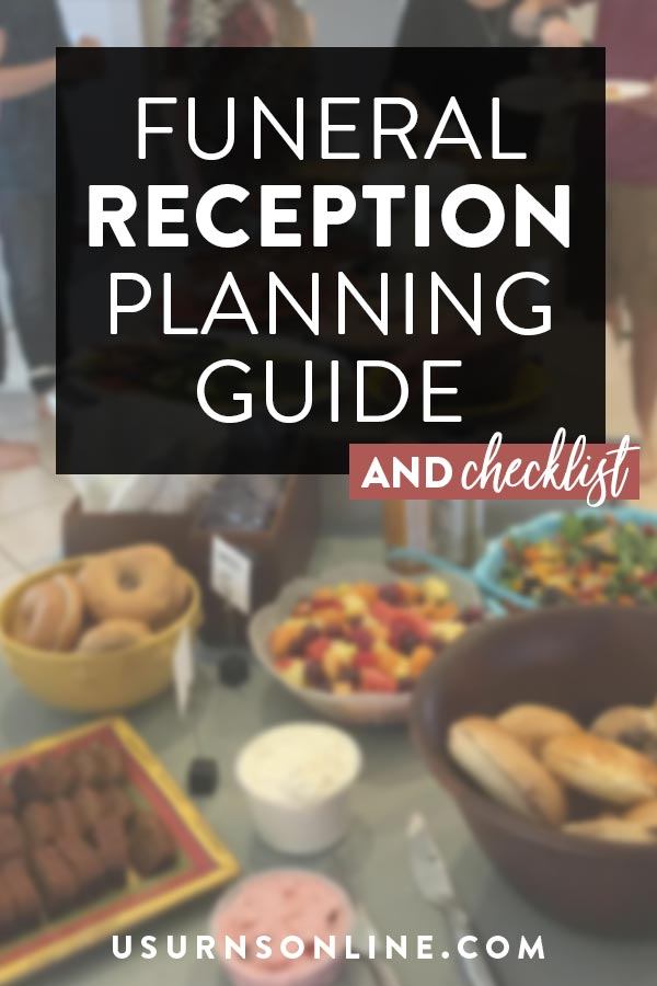 Funeral Reception Planning Checklist