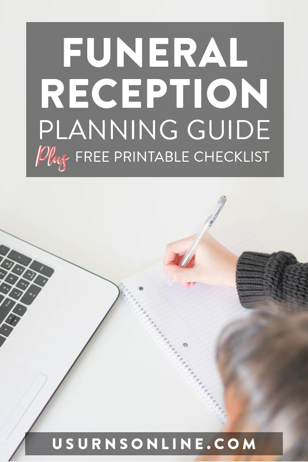 Funeral Reception Planning
