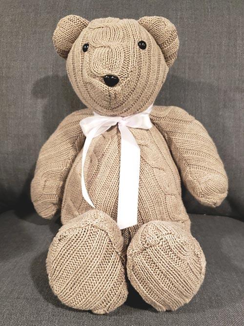 Memory Bear Gift for Grieving Child