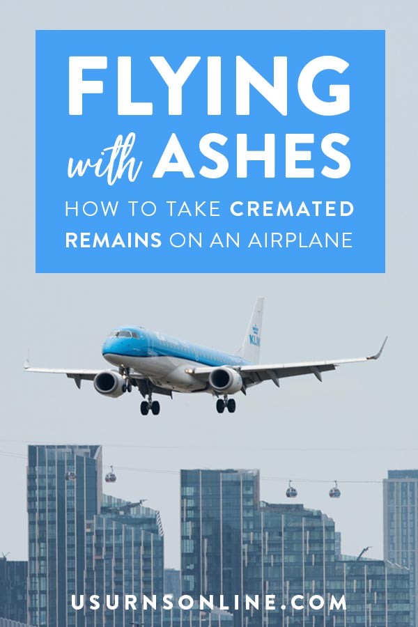 Flying with Ashes