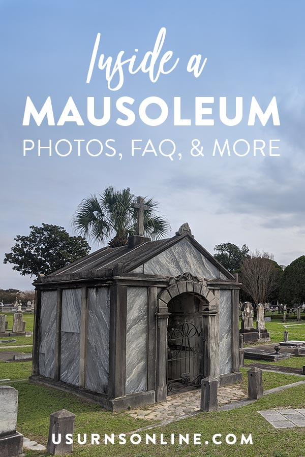 What does a mausoleum look like?