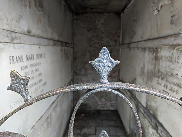 Inside a Mausoleum (Photos)