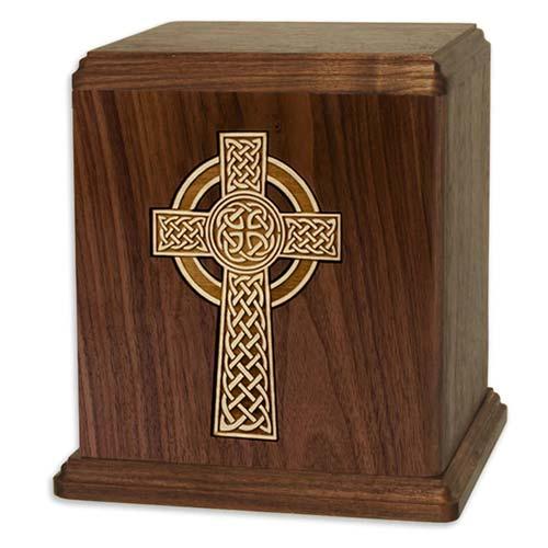 Celtic Cross - Cremation Urns for Catholics