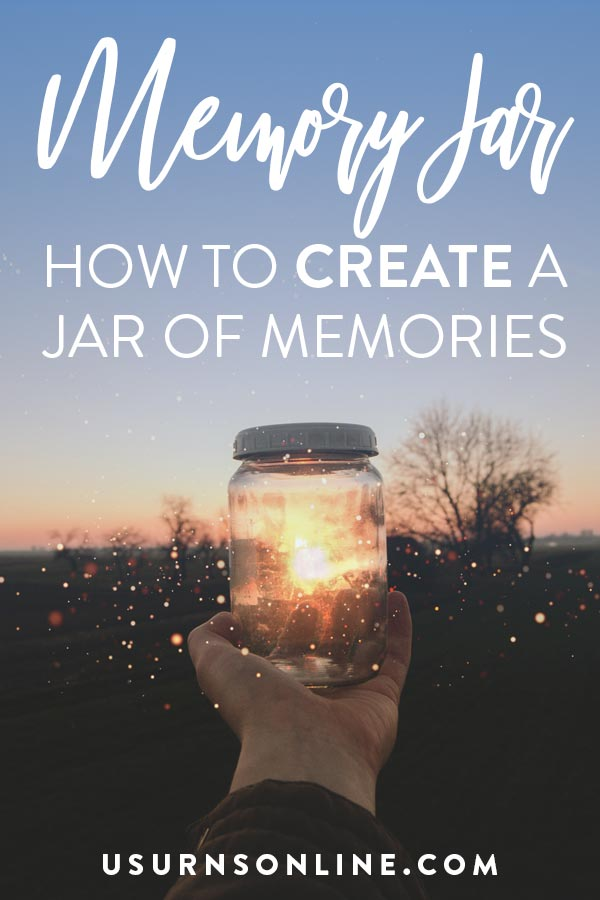 How To Make A Memory Jar For A Funeral Keepsake Urns Online