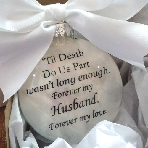 Creative Sympathy Gifts for Husband Loss