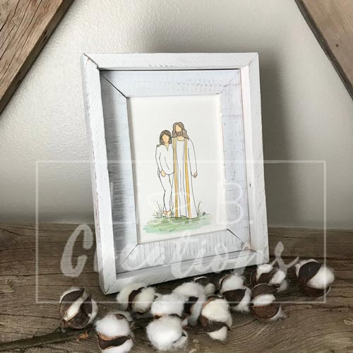 Personalized Couples Portrait - Sympathy Gift
