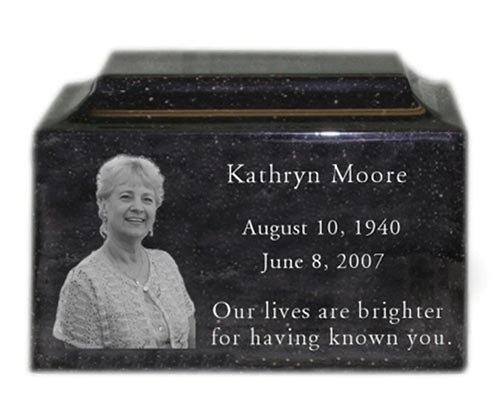 Photo urn for ashes - Urns for Mom