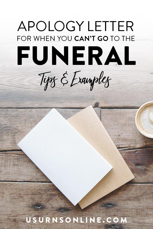 Can't Attend Funeral Letter - Examples & Tips