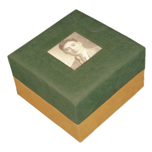 Biodegradable Urn for Ashes with Photo