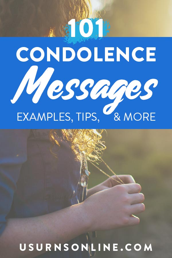 101 Condolence Messages, Tips, Examples, and Images