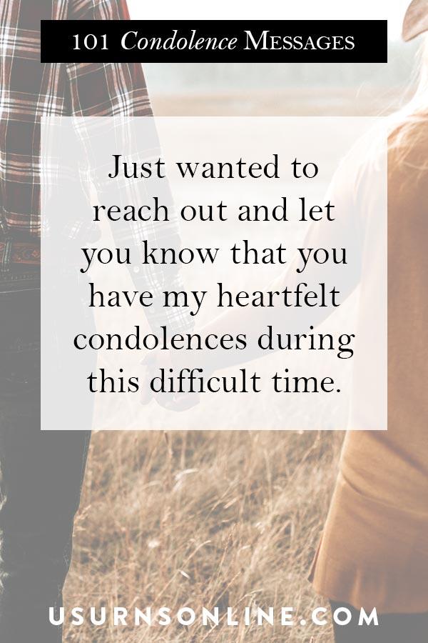 Heartfelt Condolences Images