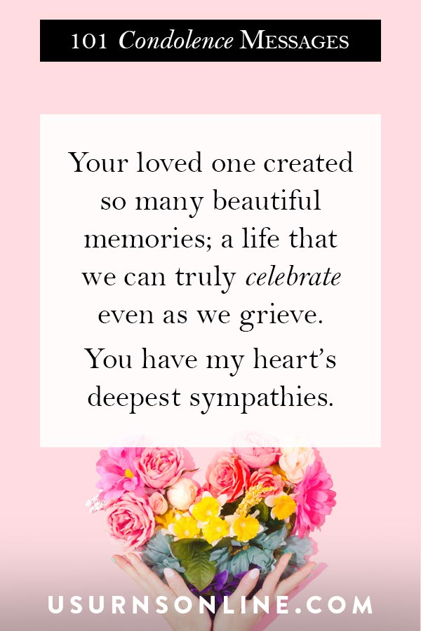 Condolence Images for Loss of a Loved One