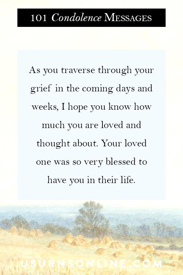 Sympathy Sayings & Condolence Images