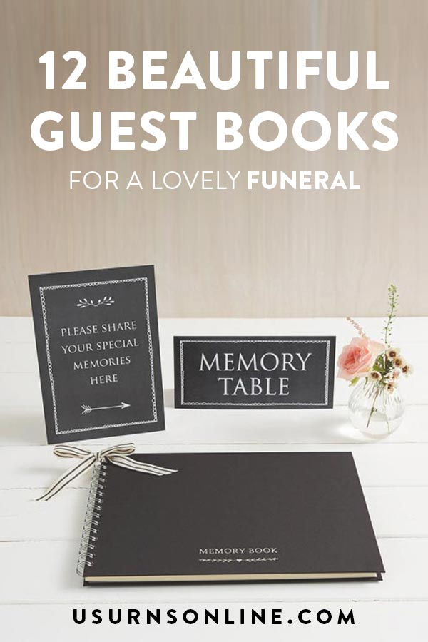 Funeral Guest Book Ideas