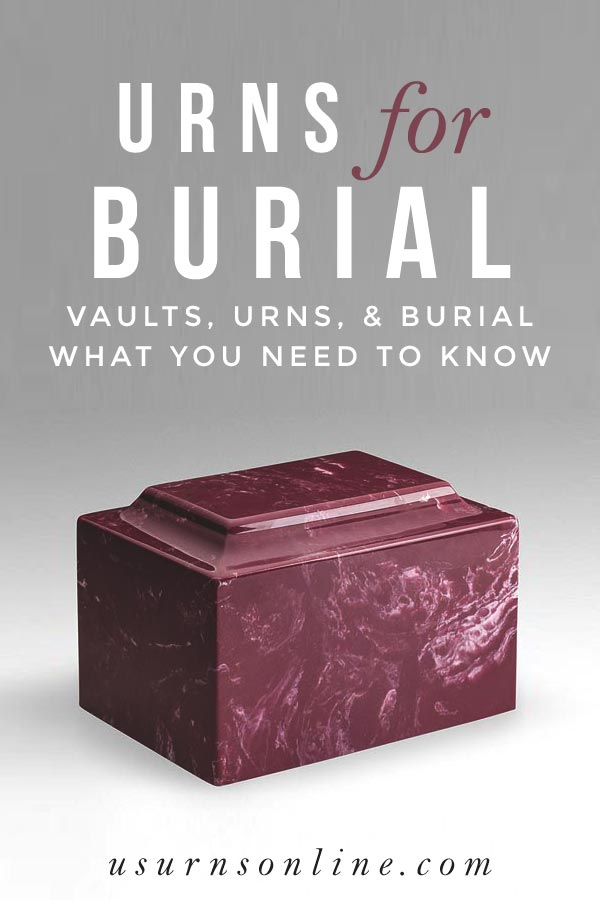 Best Cremation Urns for Burial